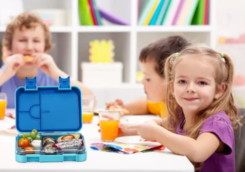 Children Middle Lunch Box