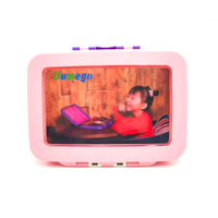 3D Image School Lunch Bento Box