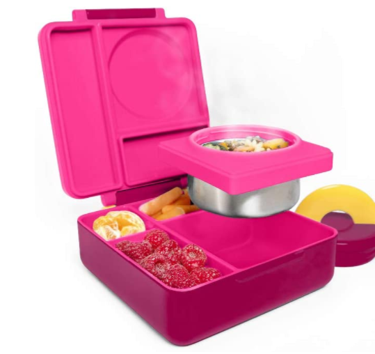 bento box for kids with leak proof food jar