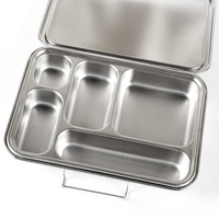 Stainless Steel Bento Box Leak Proof